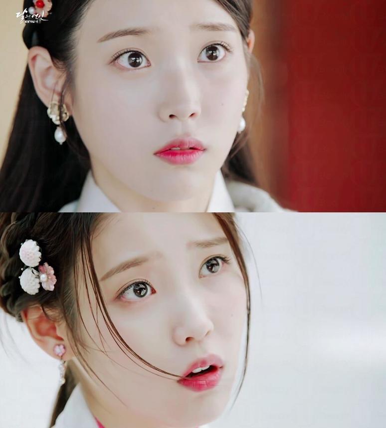 韩国化妆师youbina最近就在她的blog上分享了iu清纯妆的小心机,各位