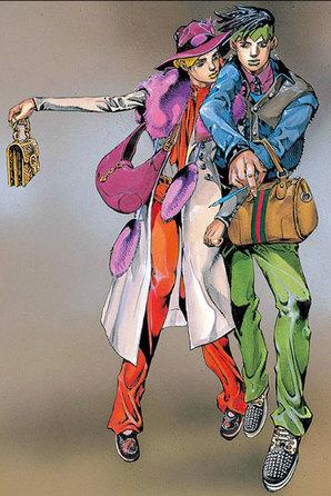 卡通与时装的秘密情结