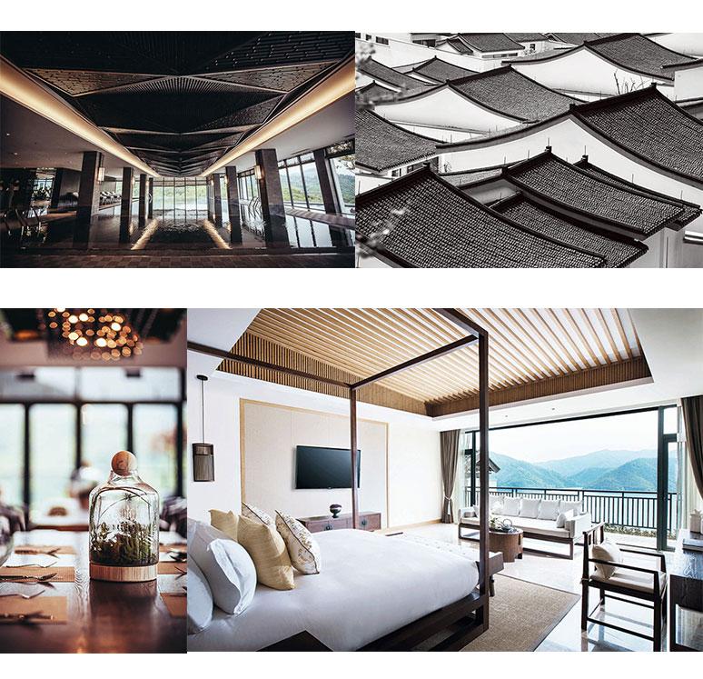 定制家具与建筑设计完美平衡,白色橡木咖啡桌,沙发和扶手椅配合大地色