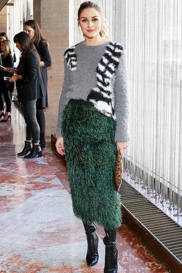让你不得不臣服的混搭功力,Olivia Palermo时装周期间的时髦穿搭